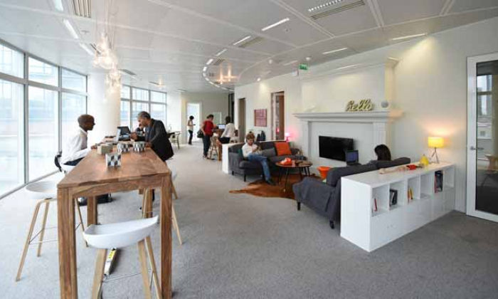 nextdoor aims to be the european leader in new collaborative workspaces bouygues immobilier. Black Bedroom Furniture Sets. Home Design Ideas